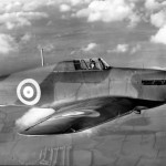Early Hurricane Mk I on test