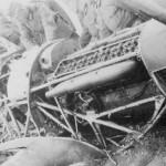 German soldiers examining destroyed Hurricane