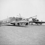 Groundcrew refuelling Hurricane Mk I L2001 JU-B of No 111 Squadron RAF at Wick