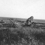 Hawker Hurricane wreckage 1940