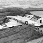 Hurribomber Mk IV fighter bomber in flight August 1945