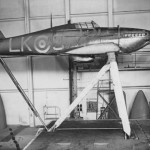 Hurricane LK-S wind tunnel 1942 RAE