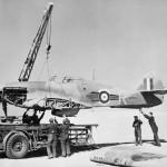 """Hurricane Mk IIB BD930 """"R"""" of No 73 Squadron RAF"""