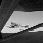 Hurricane Mk IIB HL887, code AK-W of No 213 Squadron RAF El Adem Libya 1943
