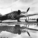 Hurricane Mk IIB Z3977 of the 81 Squadron 151st Wing on airfield in Vaenga 2