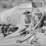 "Hurricane Mk IIC HW557 ""K"" of No 28 Squadron RAF at Sadaung Burma"