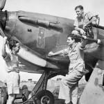 Hurricane Mk IIC of No 224 Group RAF in north eastern India Hurricane Mk IIC in the background HV816 X
