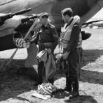 Hurricane Mk IIC of the Air Dispatch Service Squadron 1944