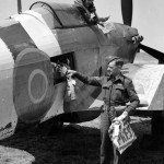 Hurricane Mk IIC of the Air Dispatch letter Service Squadron 1944