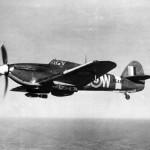 Hurricane Mk IIB BE485 of RCAF Squadron No 402