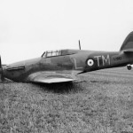 Hurricane Mk I L1951 code TM-L of No. 504 Squadron field near Great Yarmouth, 2 April 1940
