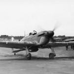 Hurricane Mk I flown by Sgt G Sammy Allard of No 85 Squadron July 1940 2
