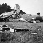Hawker Hurricane P2959 and Fairey Battle P5238