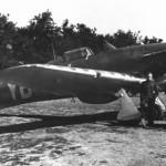 Hurricane P3878 code YB-W of No 17 Squadron Debden 1940
