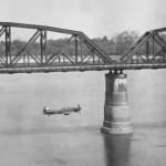 Hurricane Tac R Mk IV No 28 Squadron Aya Bridge south of Mandalay 1945