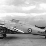 Hurricane prototype K5083 1935 left side view 2