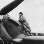 No 71 Eagle Squadron RAF Pilot Andrew Mamedoff on Hurricane 1941