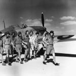 Pilots of B Flight No 33 Squadron RAF Hurricane Mk I Fuka Egypt