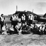 Pilots of No 310 Czech Squadron in front of Hurricane Mk I P3143 NN-D 1941