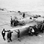 Sea Hurricanes Flying Exercises On HMS Victorious 25-27 June 1942