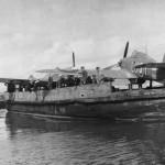 Sea Hurricanes Mk IA bearing Merchant Ship