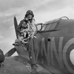 Sergeant B Furst of No 310 Czechoslovak Squadron RAF Duxford September 1940