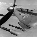 """Sir Roderic"" presentation Hurricane No 94 Squadron RAF"