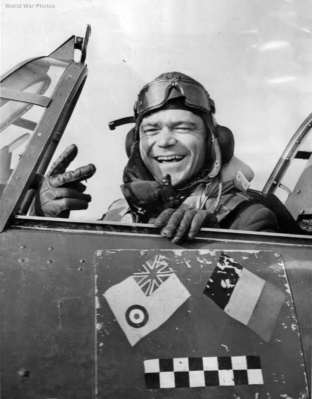 Belgium Air Force Hurricane Pilot