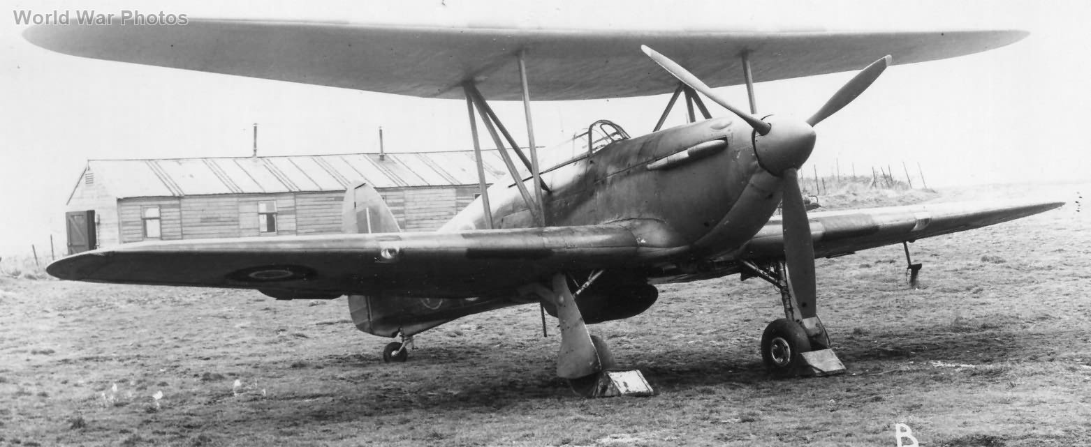 Hillson Hurricane biplane