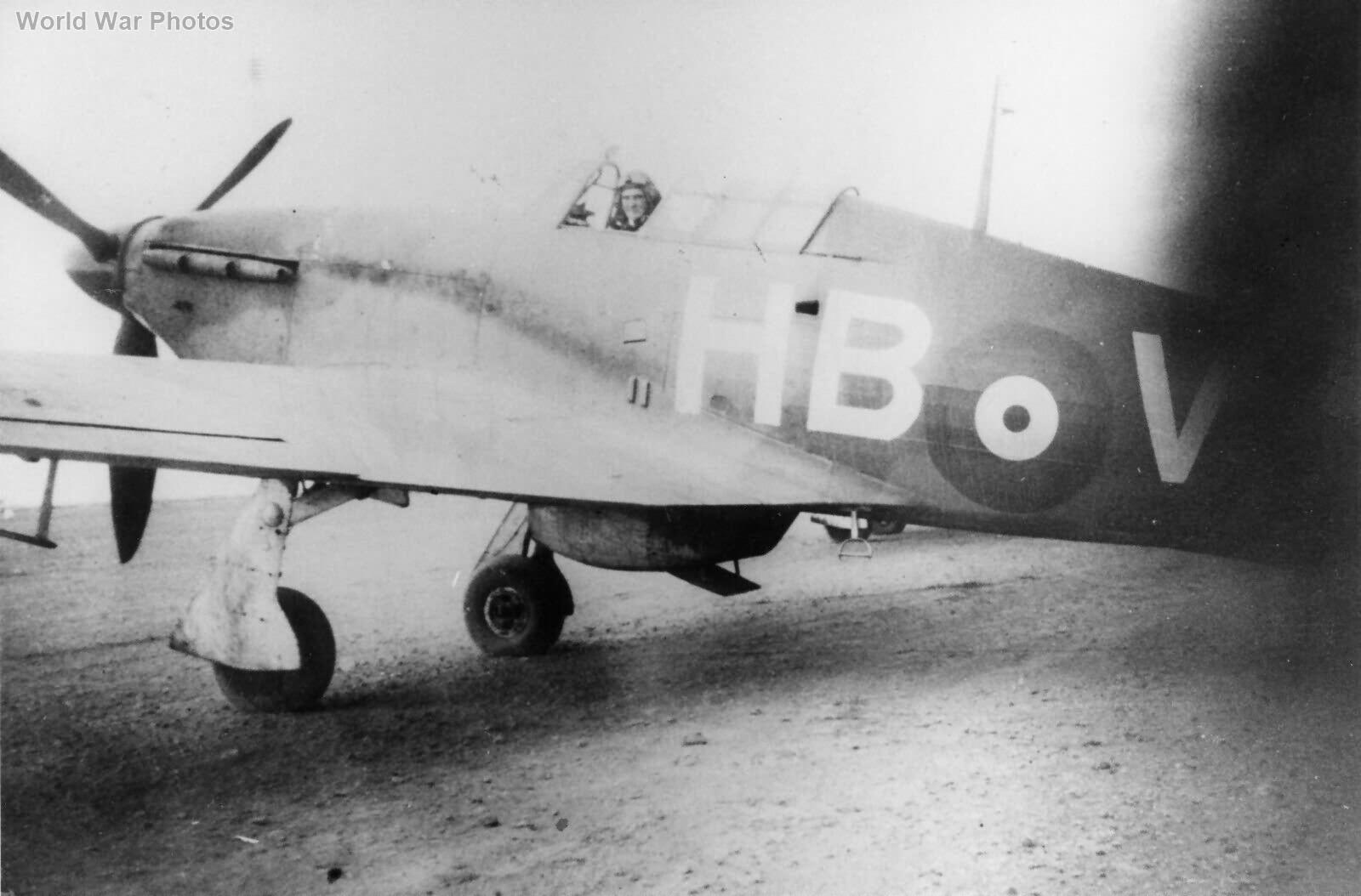 Hurricane 229 Sqn 1941 Sgt A H Warminger