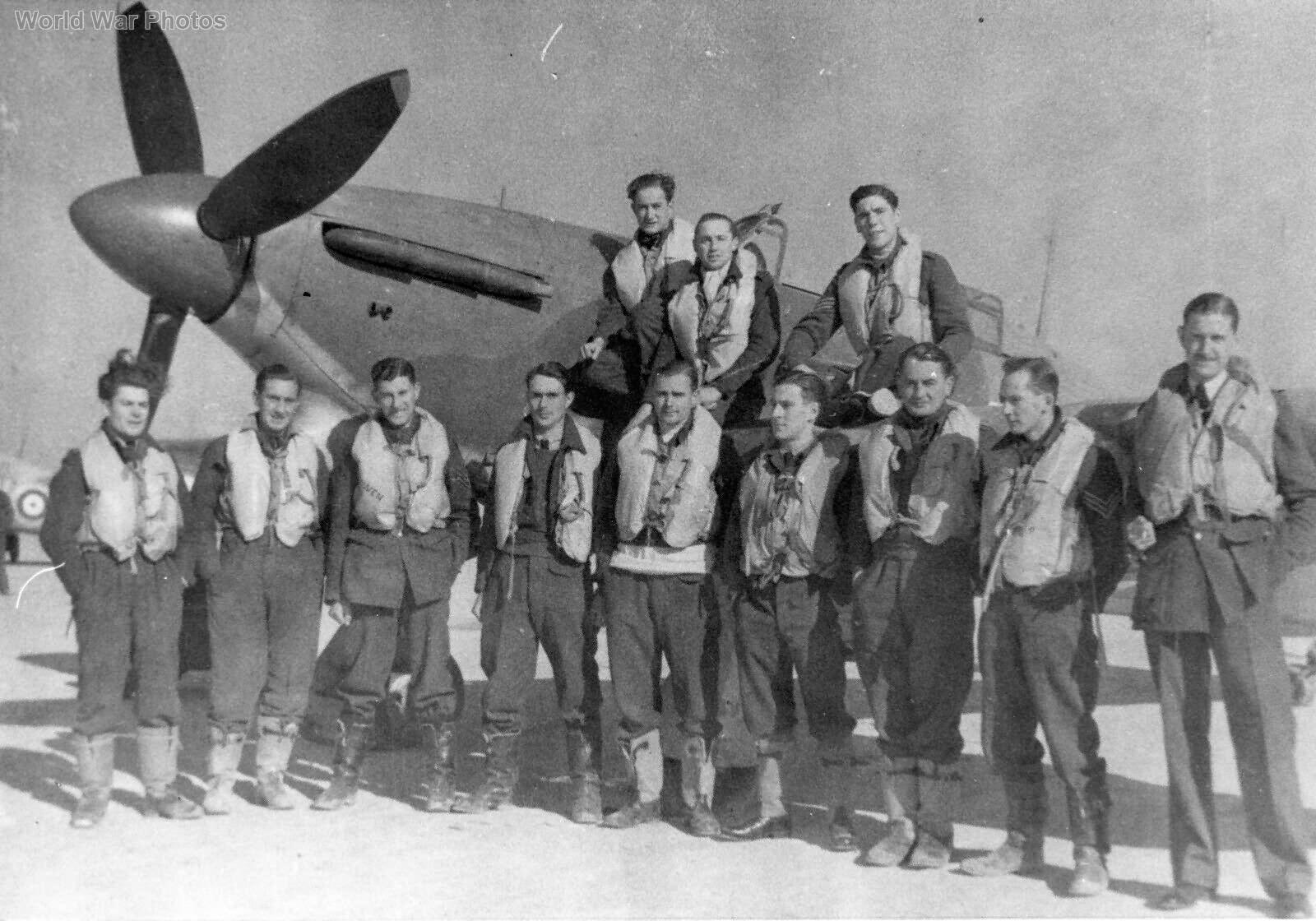 Hurricane 249 Sqn Malta Winter 1941