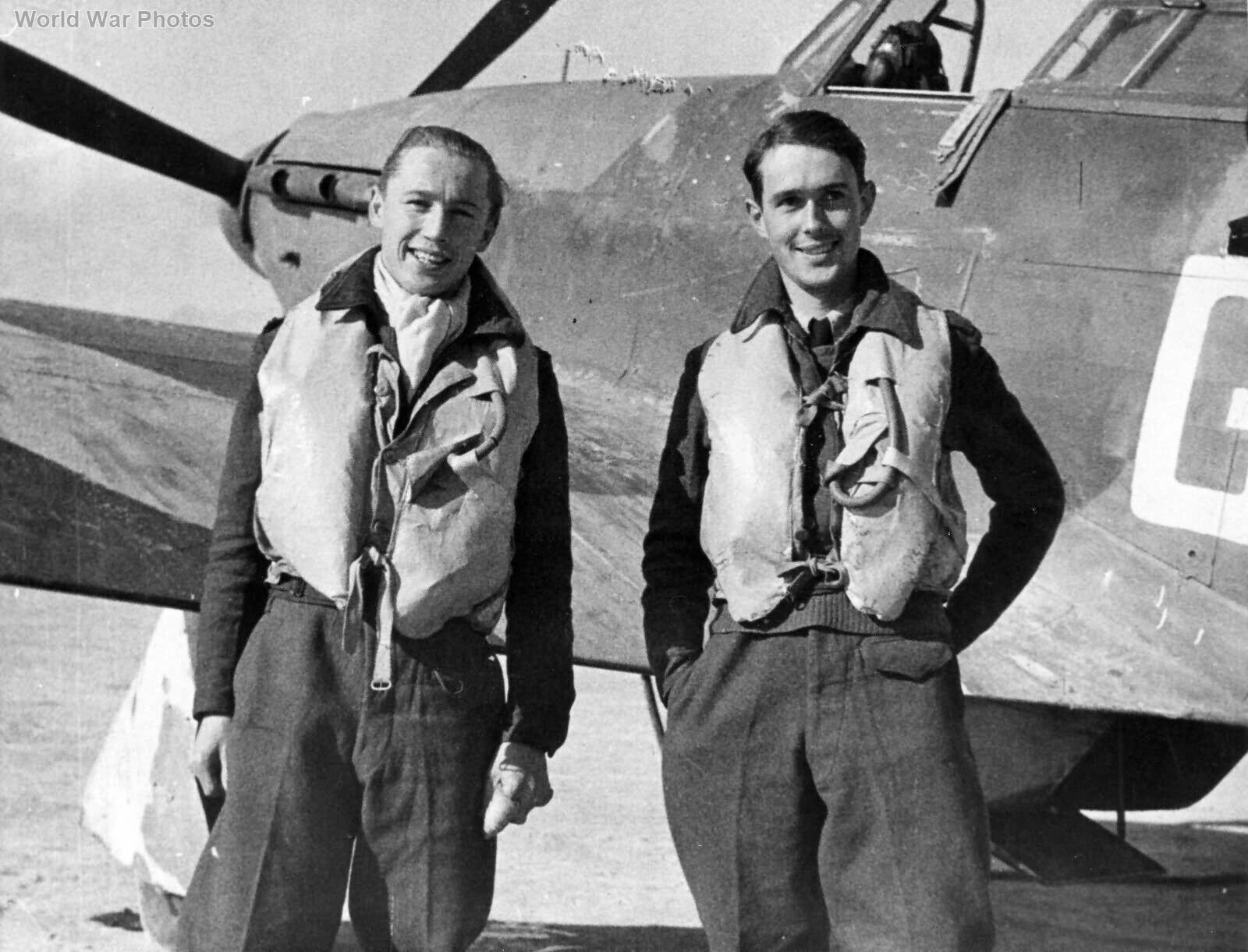 Hurricane pilots of 249 Squadron RAF Malta