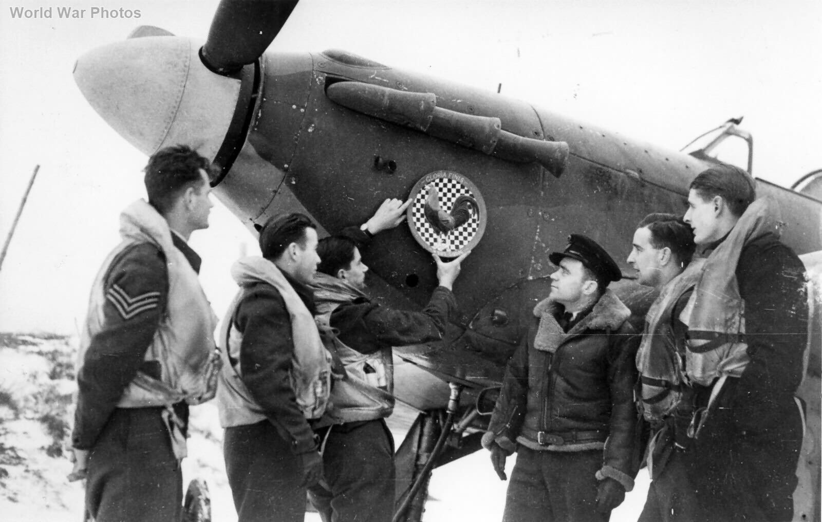 Hurricane 43 Sqn Squadron Leader Duvivier