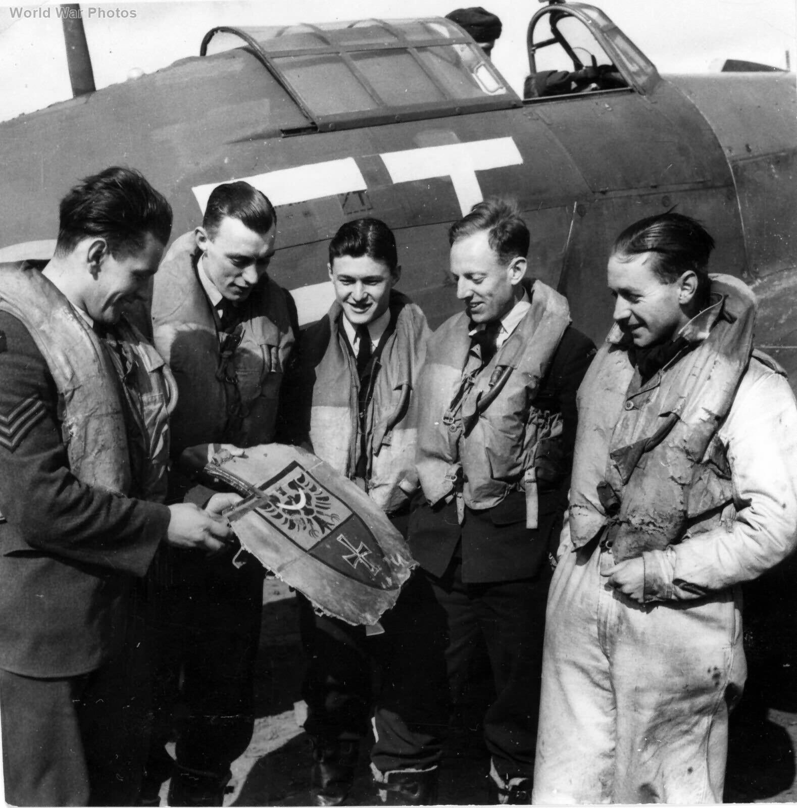Hurricane 43 Sqn Wick early 1940