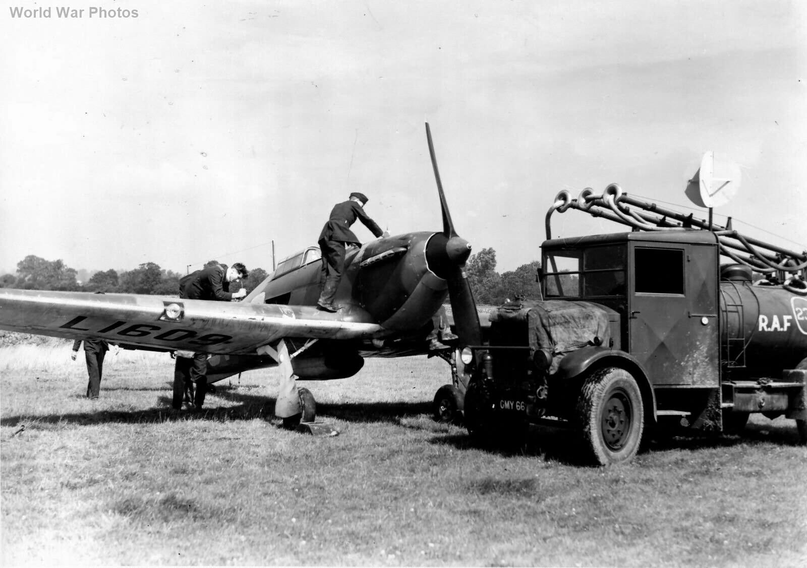 Hurricane 56 Sqn17 August 1939