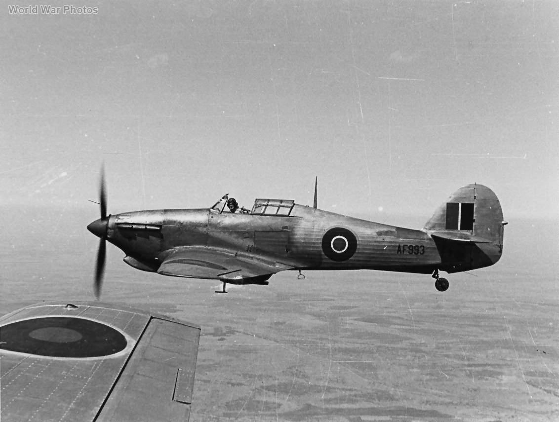 Hurricane AF993 Rhodesian Air Training Group 2