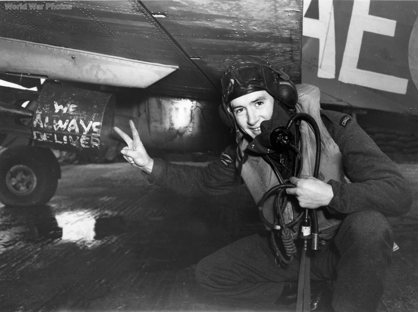 Hurricane IIb 402 Sqn Sgt R J Scott