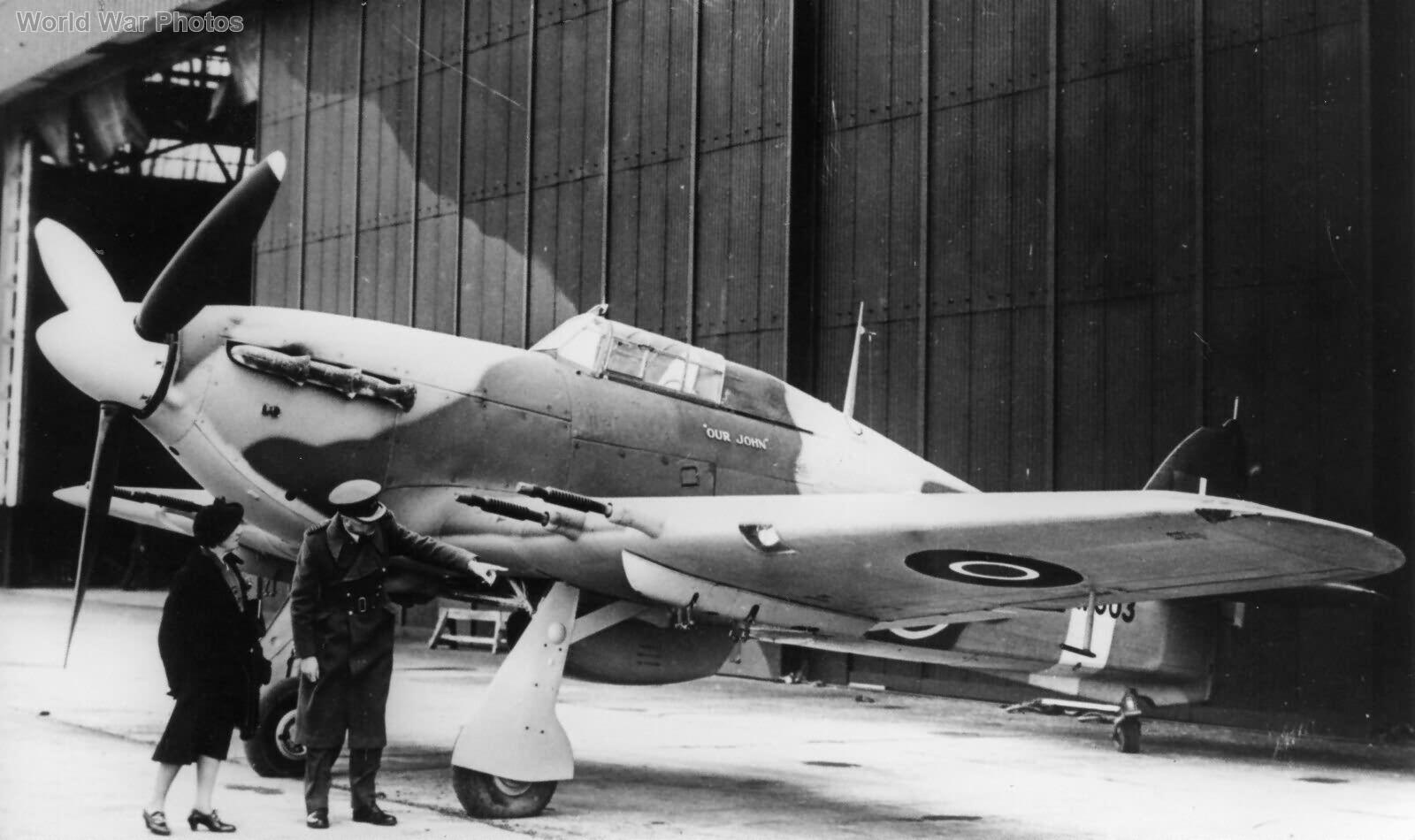 Hawker Hurricane IIc HW603 Our John