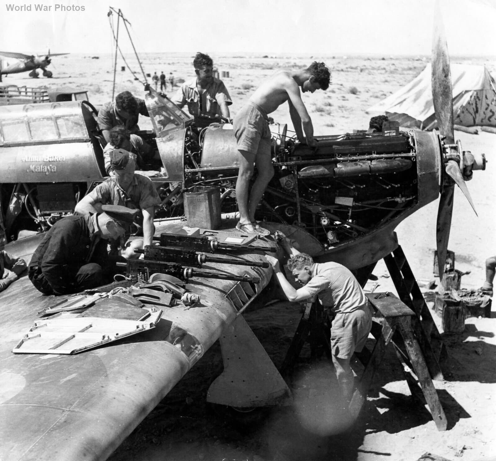 Hurricane I V7795 Alma Baker Malaya