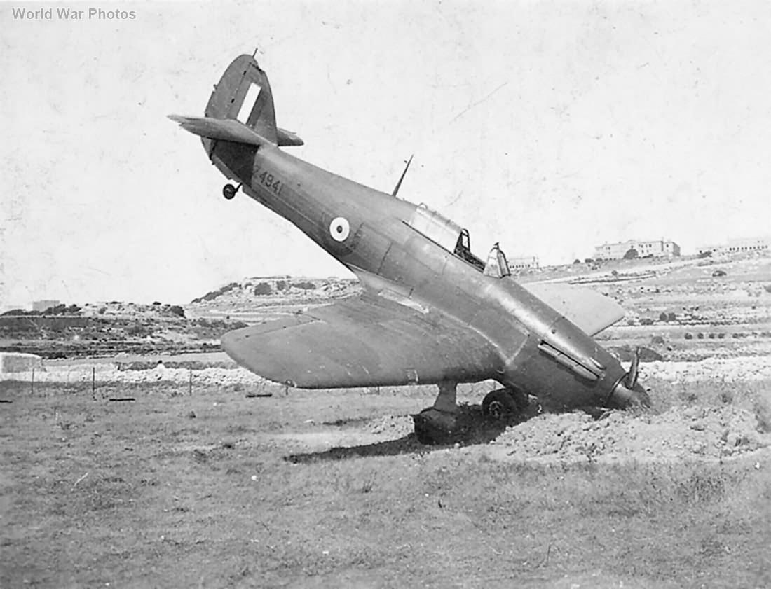 Hurricane I Z4941 Malta