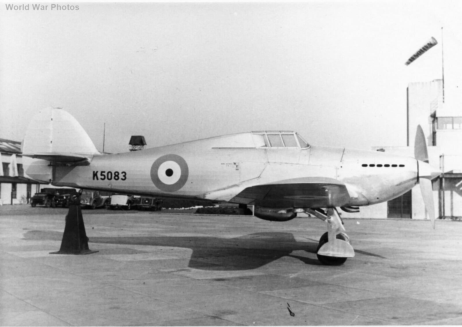 Prototype Hurricane K5083