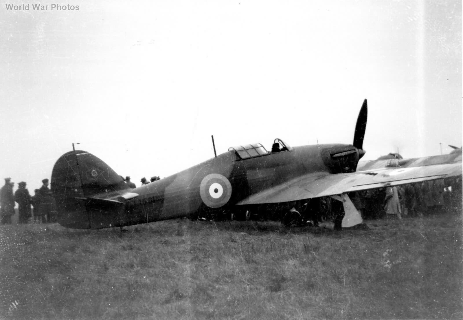 Hawker Hurricane L1681 No 1 Sqn