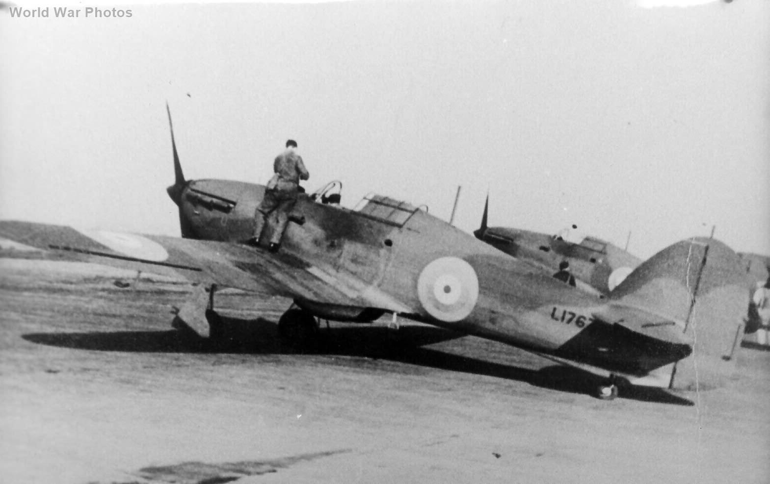 Hurricane Mk I L1767 North Weald