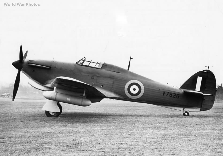 Hawker Hurricane Mk I V7826