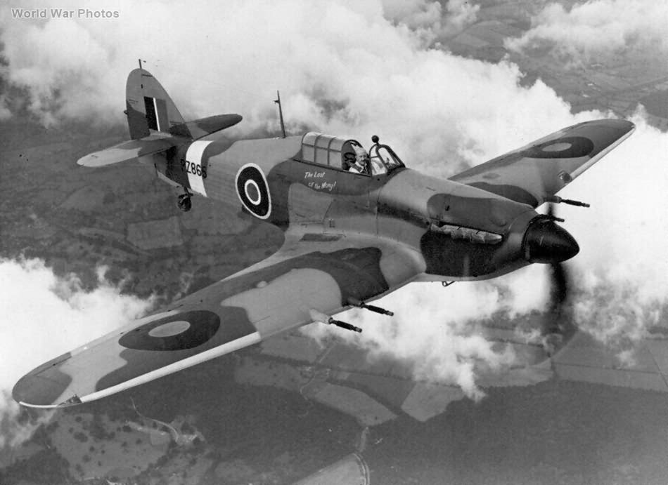 Hurricane PZ865 The Last of the Many
