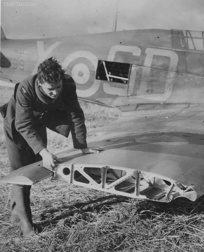 Hurricane V6799 501 Sqn 1940