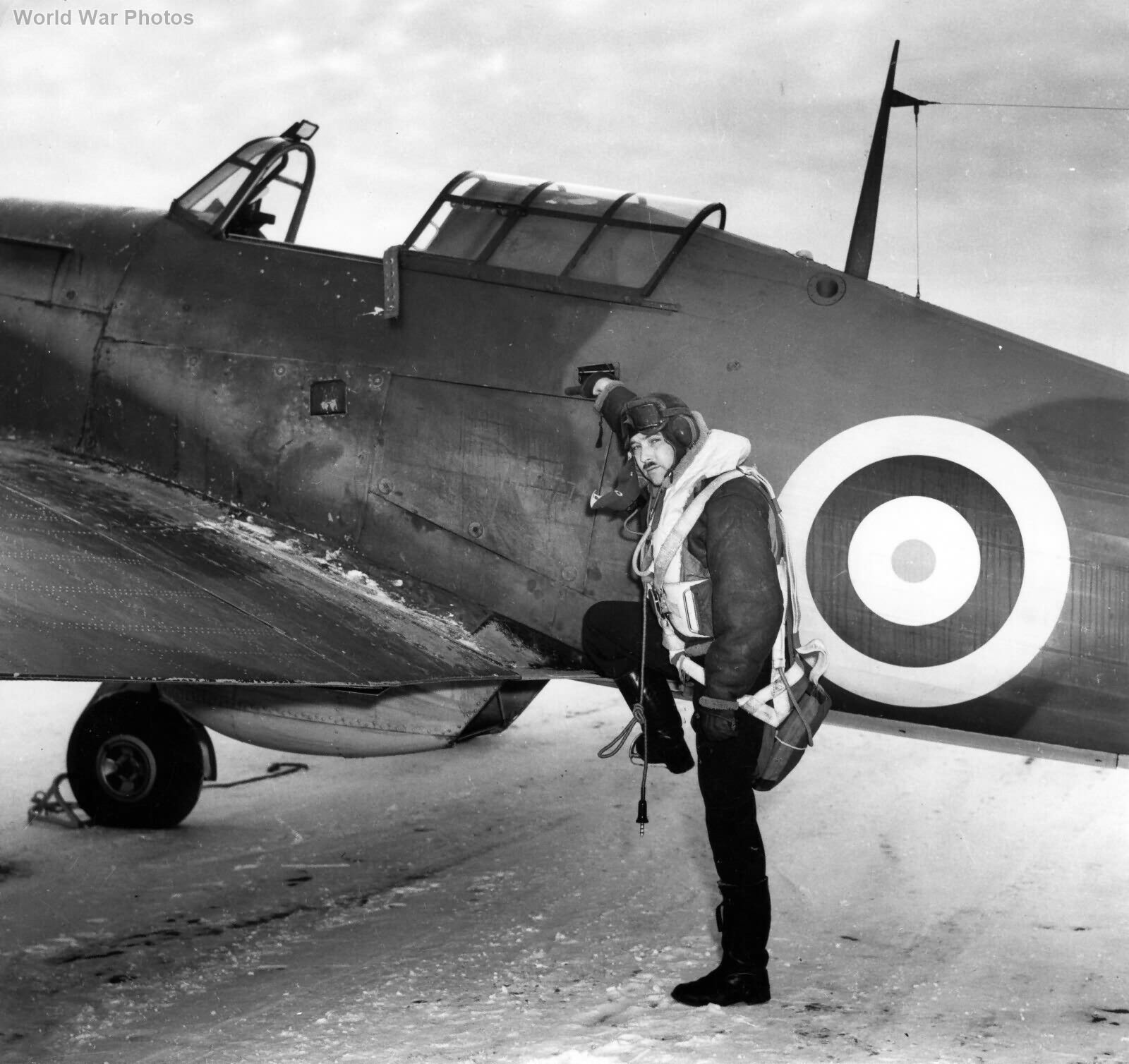 Hawker Hurricane XII 1 OTU Bagotville