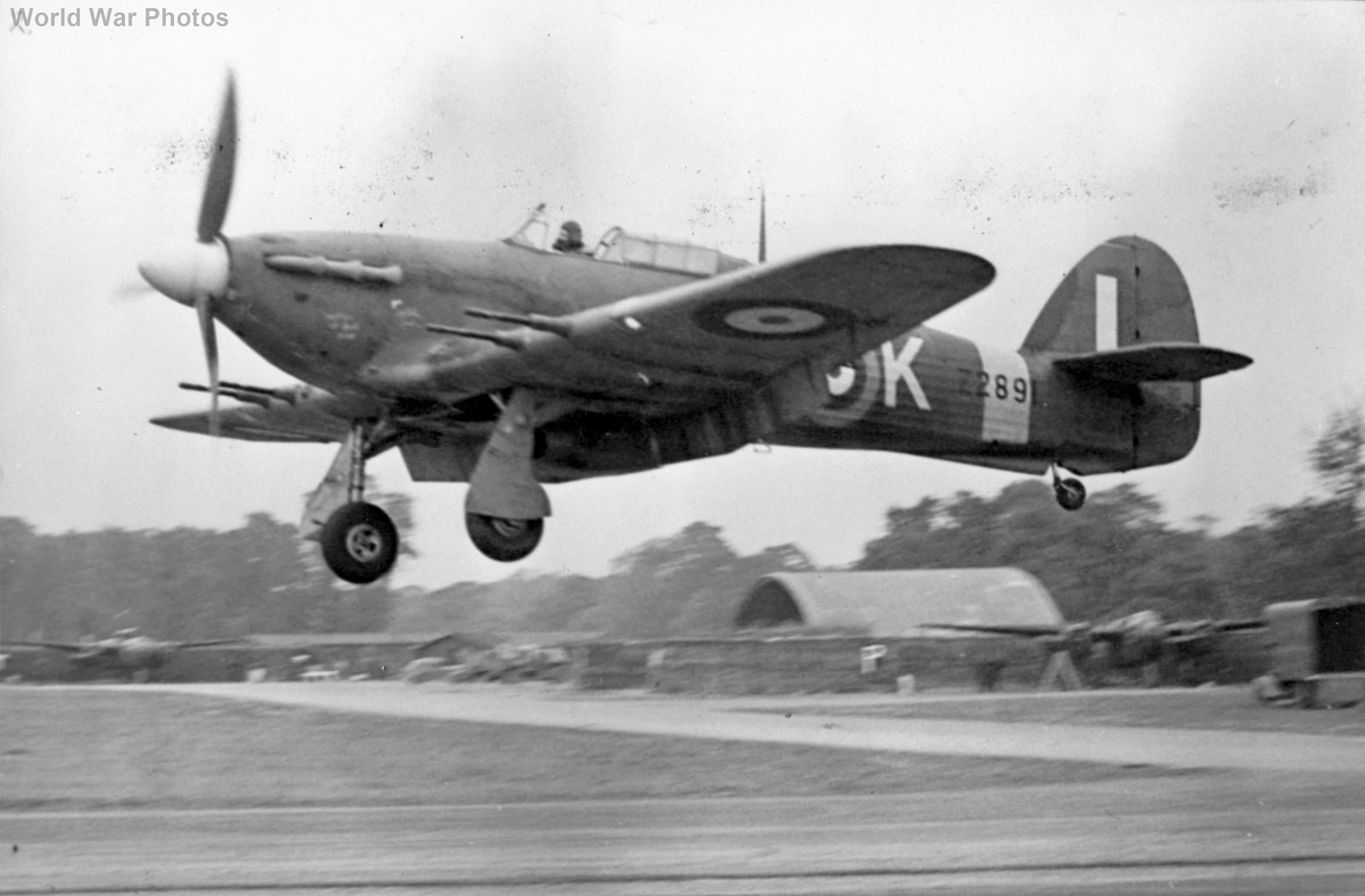 Hawker Hurricane Mk IIc Z2891
