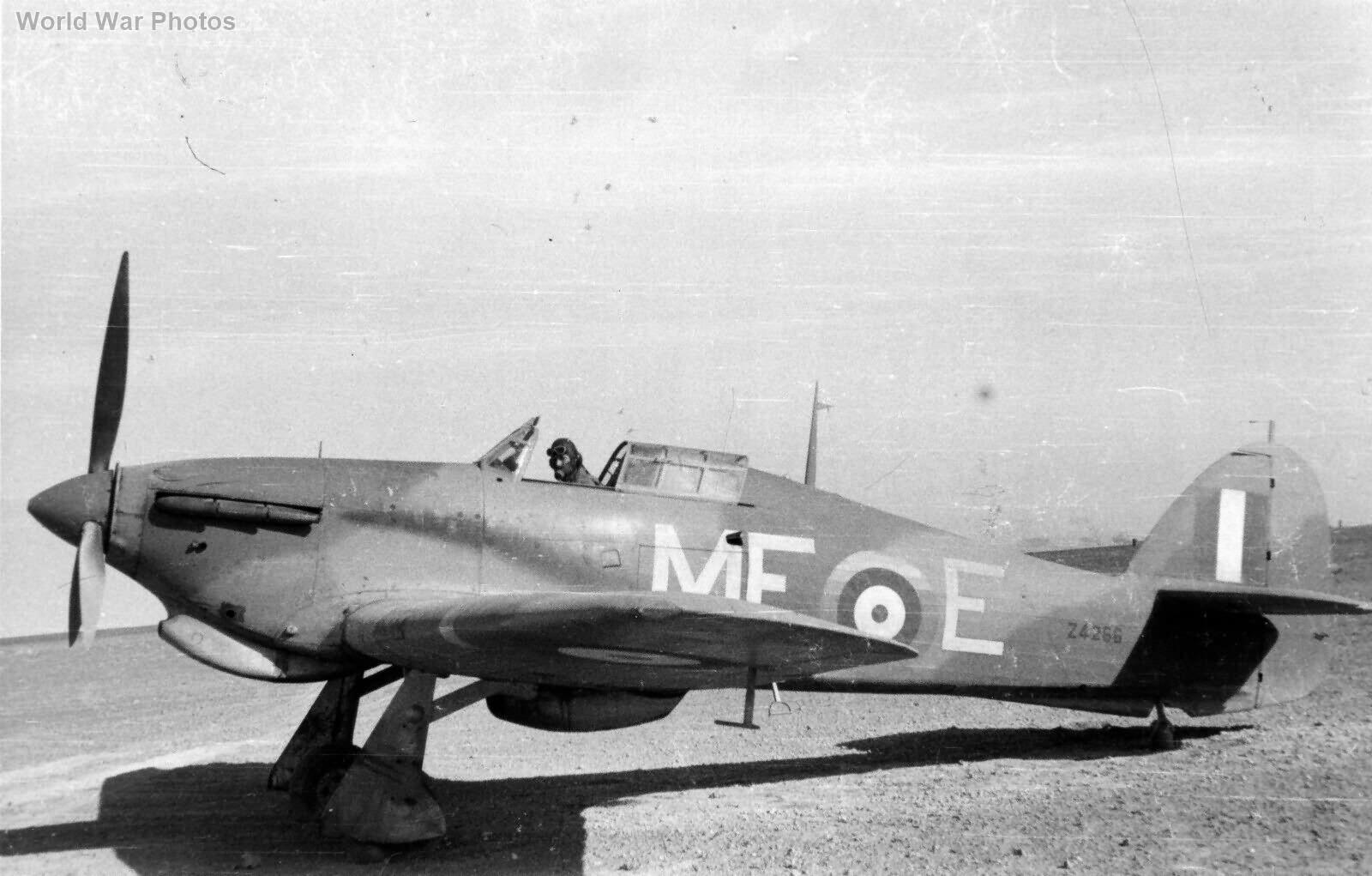 Hawker Hurricane Z4266 260 Squadron