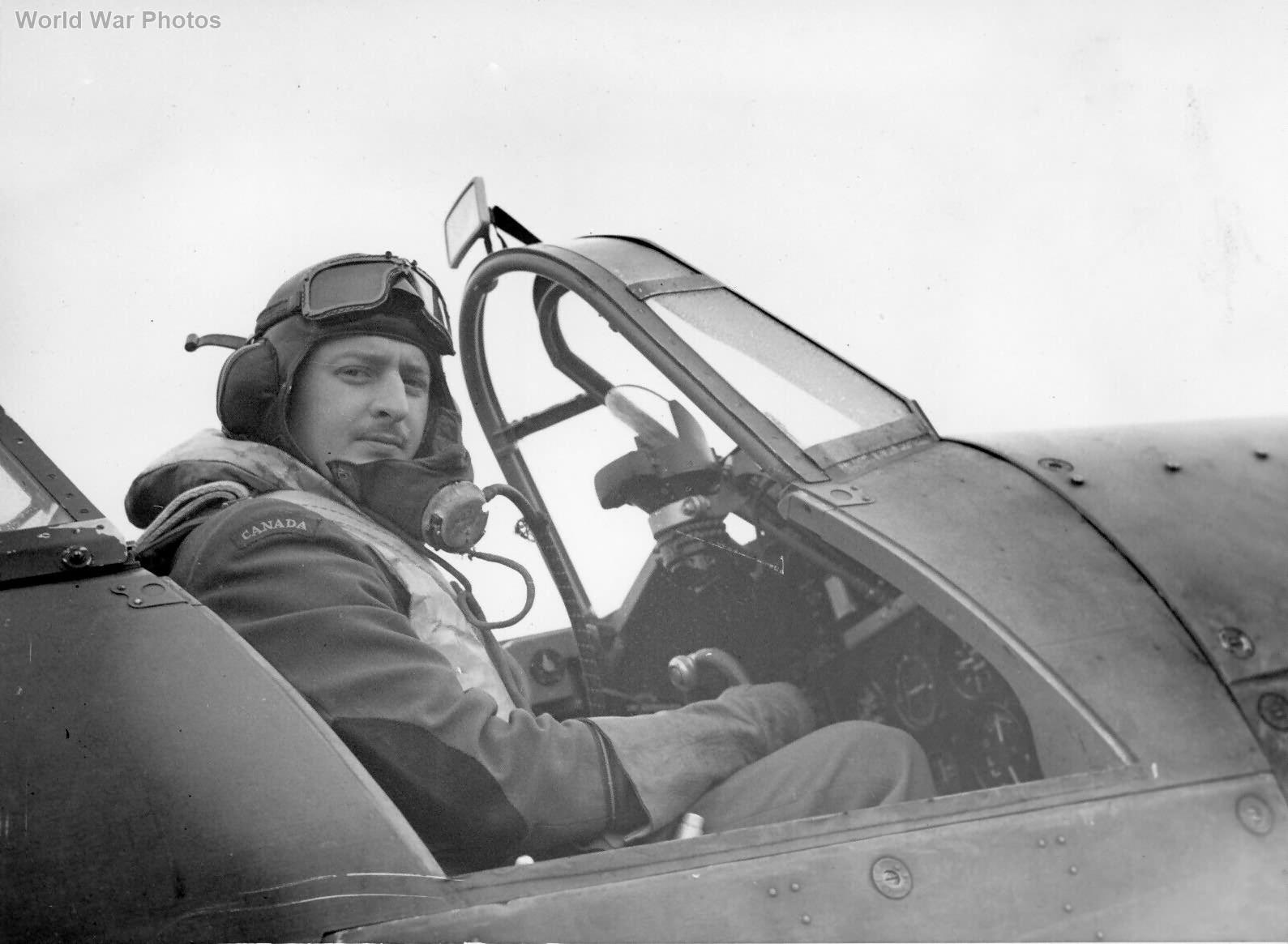 Hurricane pilot 1 RCAF Squadron 1940